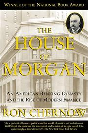Cover of: The House of Morgan by Ron Chernow
