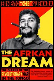 Cover of: The African dream