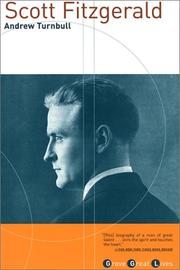 Cover of: Scott Fitzgerald | Andrew Turnbull