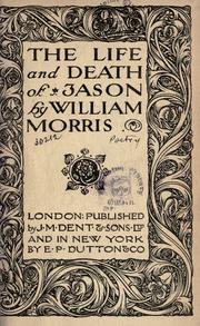 The Life and Death of Jason by William Morris