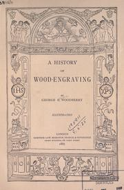 Cover of: A history of wood-engraving