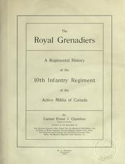 Cover of: The Royal Grenadiers