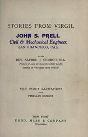 Cover of: Stories from Virgil: With twenty-four illustrations from Pinelli's designs.