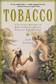 Cover of: Tobacco by Iain Gately