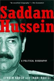 Cover of: Saddam Hussein | Efraim Karsh