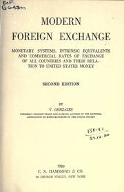 Cover of: Modern foreign exchange