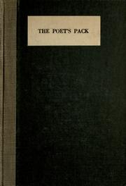 Cover of: The poet's pack |