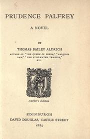 Cover of: Prudence Palfrey
