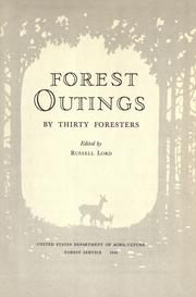Cover of: Forest outings