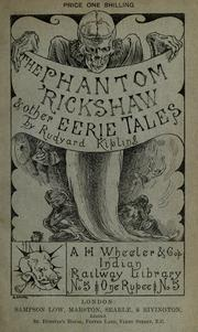 The  phantom 'rickshaw, and other tales by Rudyard Kipling