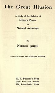 The great illusion by Angell, Norman Sir