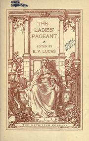 Cover of: The ladies' pageant