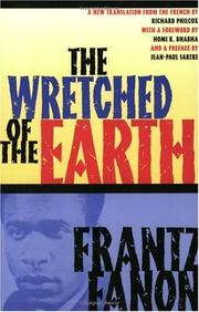Cover of: The Wretched of the Earth | Frantz Fanon