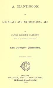 A handbook of legendary and mythological art by Clara Erskine Clement Waters