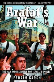 Cover of: Arafat's war