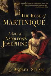 Cover of: The Rose of Martinique | Andrea Stuart