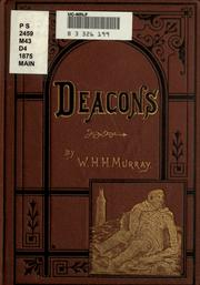 Cover of: Deacons