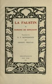 Cover of: Faustin