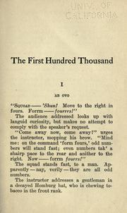 "Cover of: The first hundred thousand, being the unofficial chronicle of a unit of ""K (1)."""