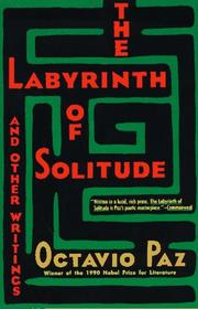 Cover of: The Labyrinth of Solitude
