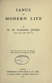 Cover of: Janus in modern life