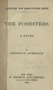 Cover of: The foresters
