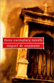Cover of: Three exemplary novels