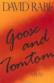 Cover of: Goose and Tomtom (Rabe, David)