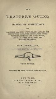 Cover of: The trapper's guide