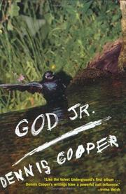 Cover of: God Jr. | Dennis Cooper