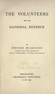 Cover of: The volunteers and the national defence