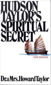 Cover of: Hudson Taylors Spiritual Secret