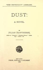 Cover of: Dust: a novel