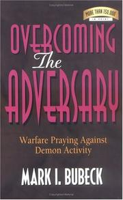 Cover of: Overcoming the Adversary
