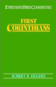 Cover of: First Corinthians | Robert B. Hughes