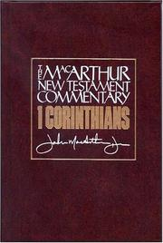 Cover of: 1 Corinthians: Godly Solutions for Church Problems (MacArthur Bible Studies)