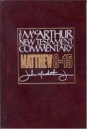 Cover of: Matthew 8-15