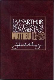 Cover of: Matthew 16-23