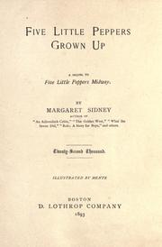 Cover of: Five little Peppers grown up