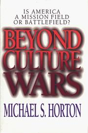 Cover of: Beyond culture wars