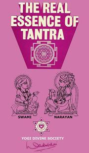 Cover of: real essence of tantra | Dadubhai N. Patel