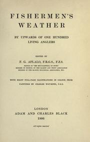Cover of: Fishermen's weather