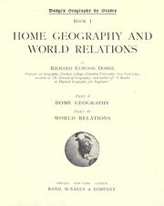 Cover of: Home geography and world relations