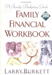 Cover of: Family Financial Workbook
