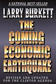 Cover of: The coming economic earthquake
