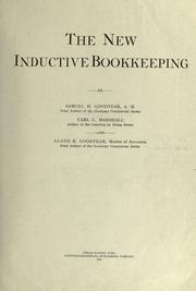 Cover of: The new inductive bookkeeping