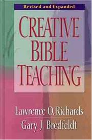 Cover of: Creative Bible teaching