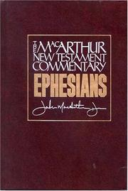 Cover of: Ephesians: Our Immeasurable Blessings in Christ (MacArthur Bible Studies)