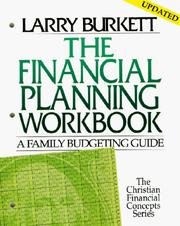 Cover of: The Financial Planning Workbook