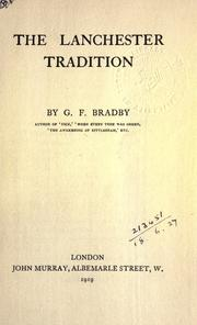 Cover of: The Lanchester tradition
